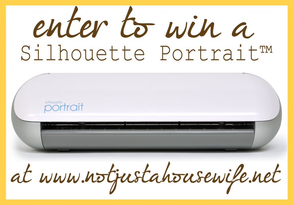 silhouette giveaway 1024x714 Silhouette Portrait GIVEAWAY!