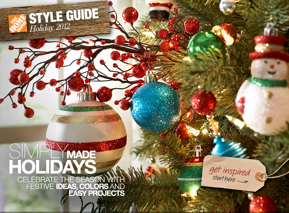 holiday style guide 2012 {Second Annual} Home Depot Week!