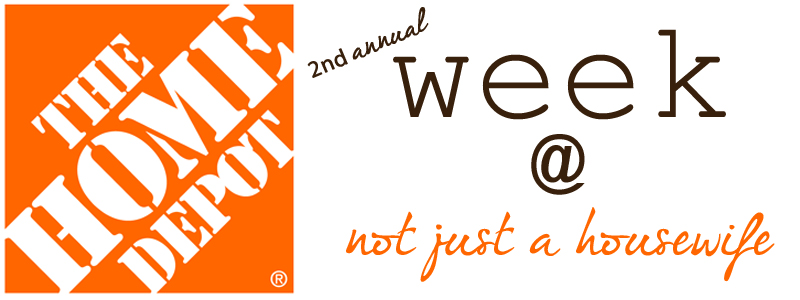 home depot week {Second Annual} Home Depot Week!