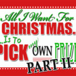 All I want for Christmas GIVEAWAY {Part 2}