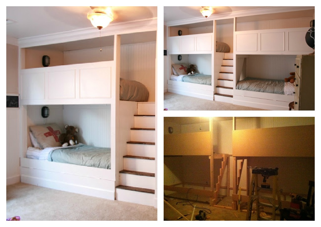 bunk beds  Top Ten Projects!!! {vote for your favorite}