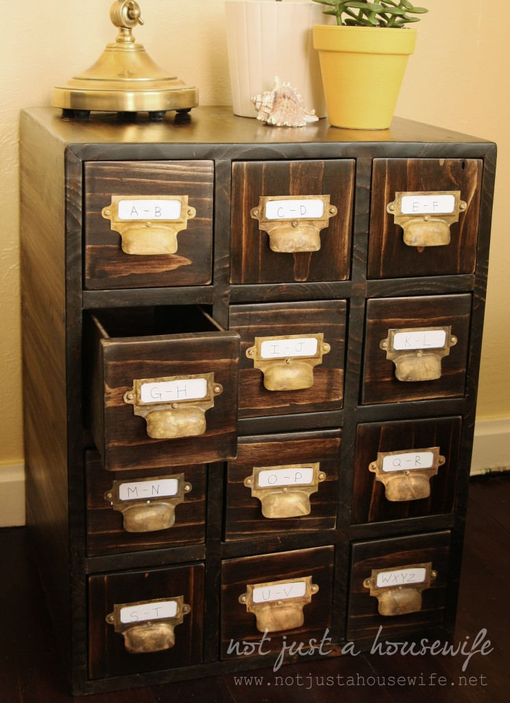 How to build a card catalog not just a housewife for X furniture catalogue