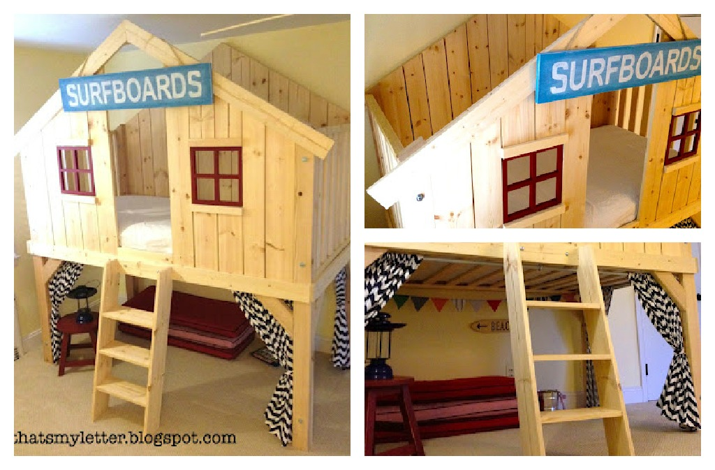 club house bed Top Ten Projects!!! {vote for your favorite}