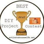 Announcing: The Second Annual DIY Contest!!!