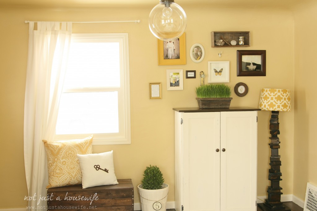 Cheerful Yellow Family Room {The BIG Reveal!!!!} - Stacy Risenmay
