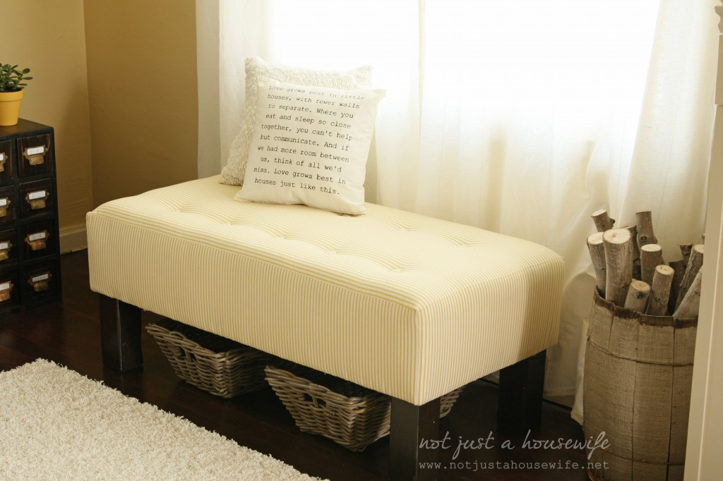 upholstered bench tutorial