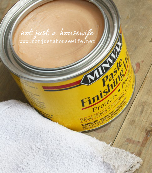 minwax finishing paste How To Build A Card Catalog