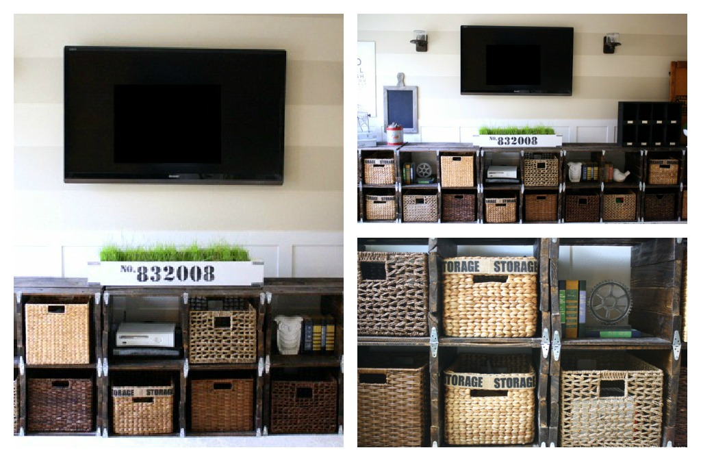 pallet entertainment center Top Ten Projects!!! {vote for your favorite}