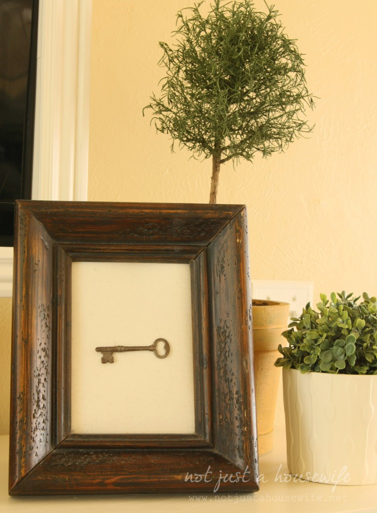 skeleton key 752x1024 Fireplace Mantel Decor