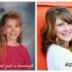 Then and Now {The winner and the matching of the bloggers to their awkward pics!}