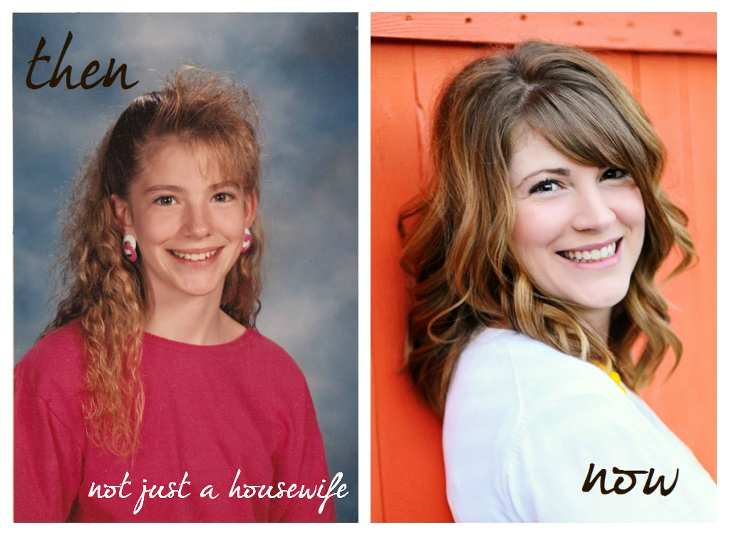 thenandnow Then and Now {The winner and the matching of the bloggers to their awkward pics!}