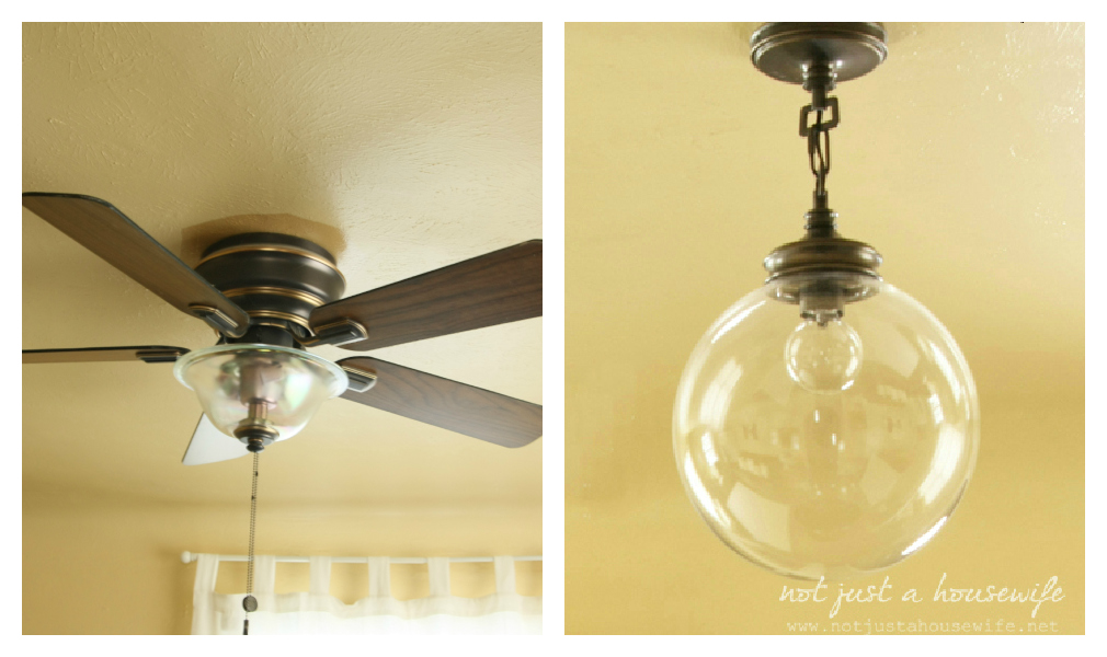 Ceiling fans vs light fixtures stacy risenmay so for that reason and to appease my hubby i started to look around for other options i wanted whatever we got to replace the ceiling fan to be pretty aloadofball Images
