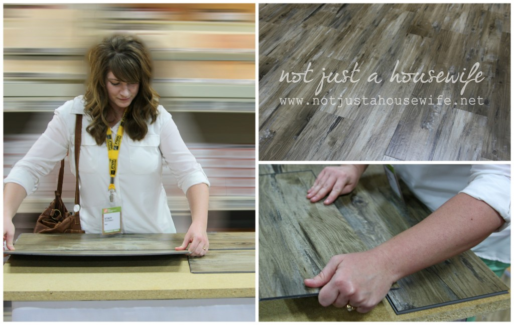 Allure flooring home depot 1024x648 The day I met Martha Stewart....