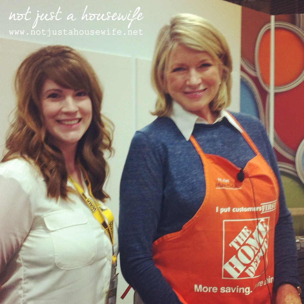 meeting martha stewart The day I met Martha Stewart....