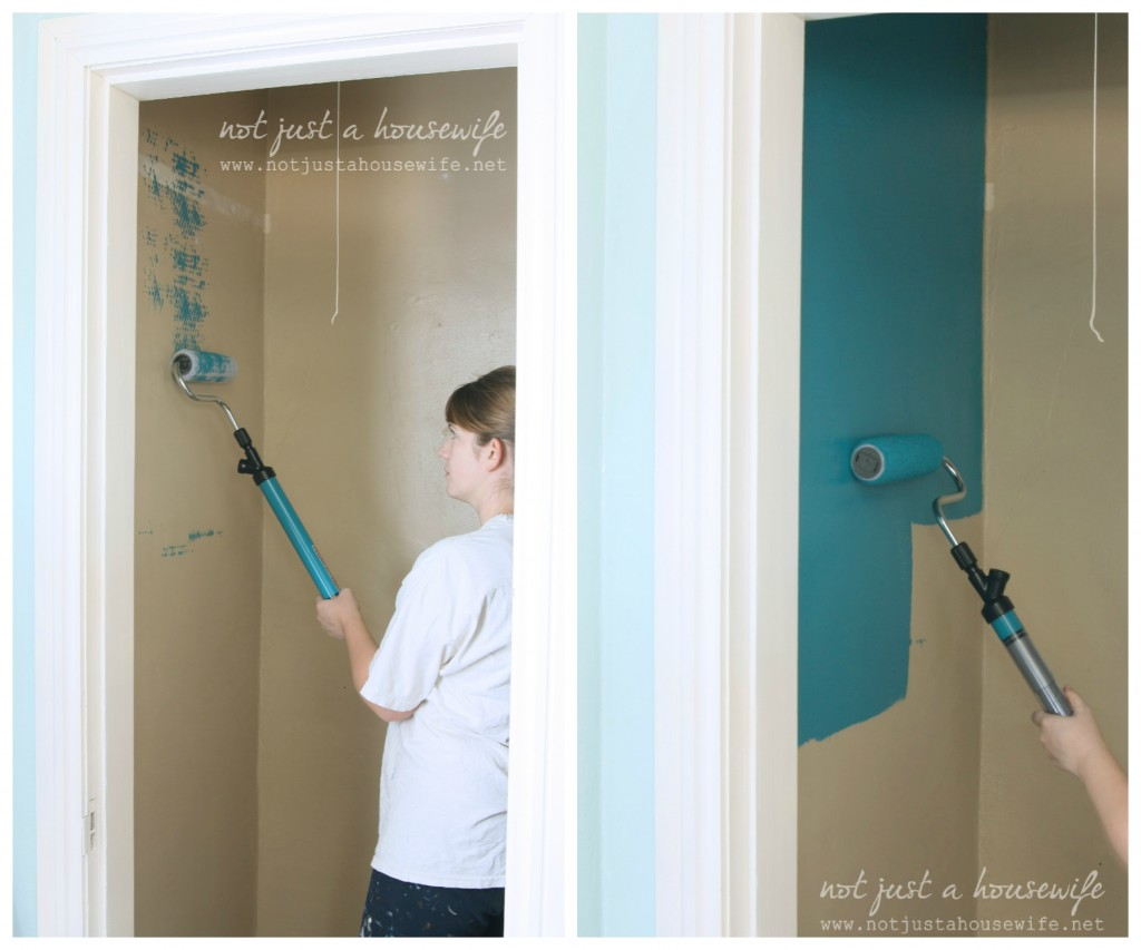 using paint stick 1024x853 Closet Makeover Part 1: PaintStick Review
