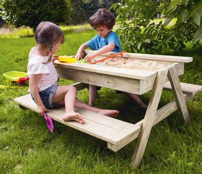 8 Awesome Sandboxes For Your Backyard Or Balcony Homes Com