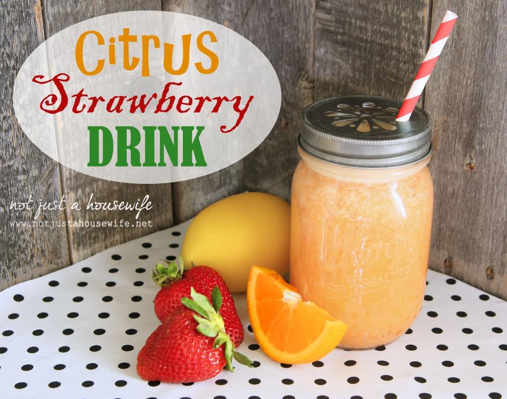 citrus-strawberry-drink