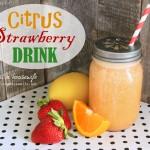 Citrus Strawberry Drink