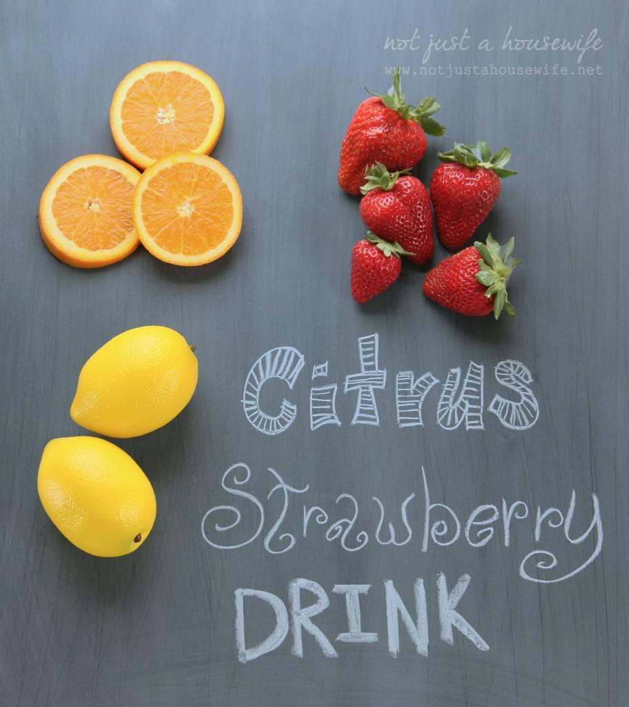 citrus-strawberry-drink-ingredients