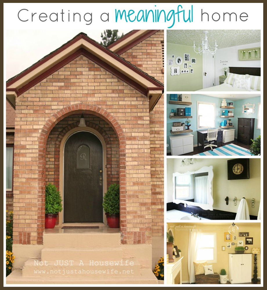 Creating A Meaningful Home