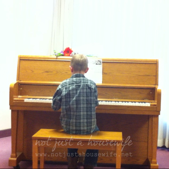 piano recital What I Have Been Up To......