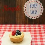 Simple Berry Tarts