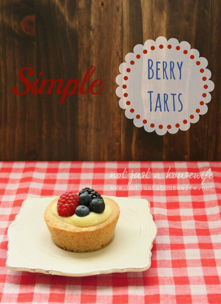 simple berry tarts1 746x1024 Simple Berry Tarts