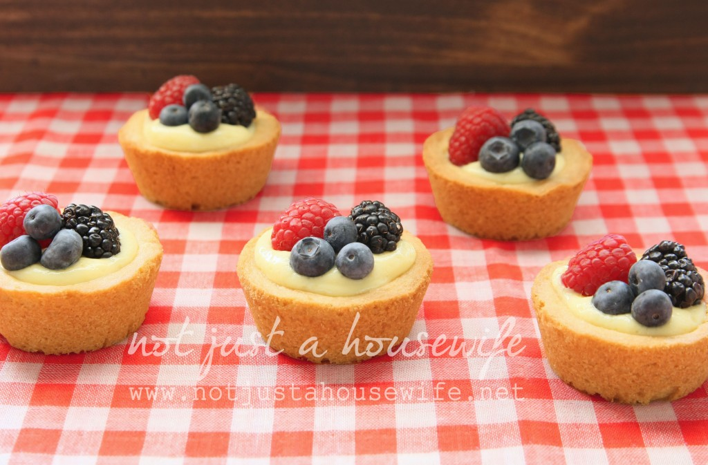 tarts 1024x673 Simple Berry Tarts
