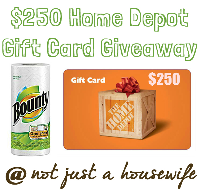 bounty and home depot gift card giveaway How To Build A Wood Serving Tray {$250 HD Gift Card Giveaway!}