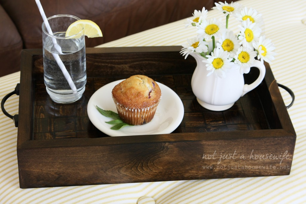 serving tray 1024x682 How To Build A Wood Serving Tray {$250 HD Gift Card Giveaway!}