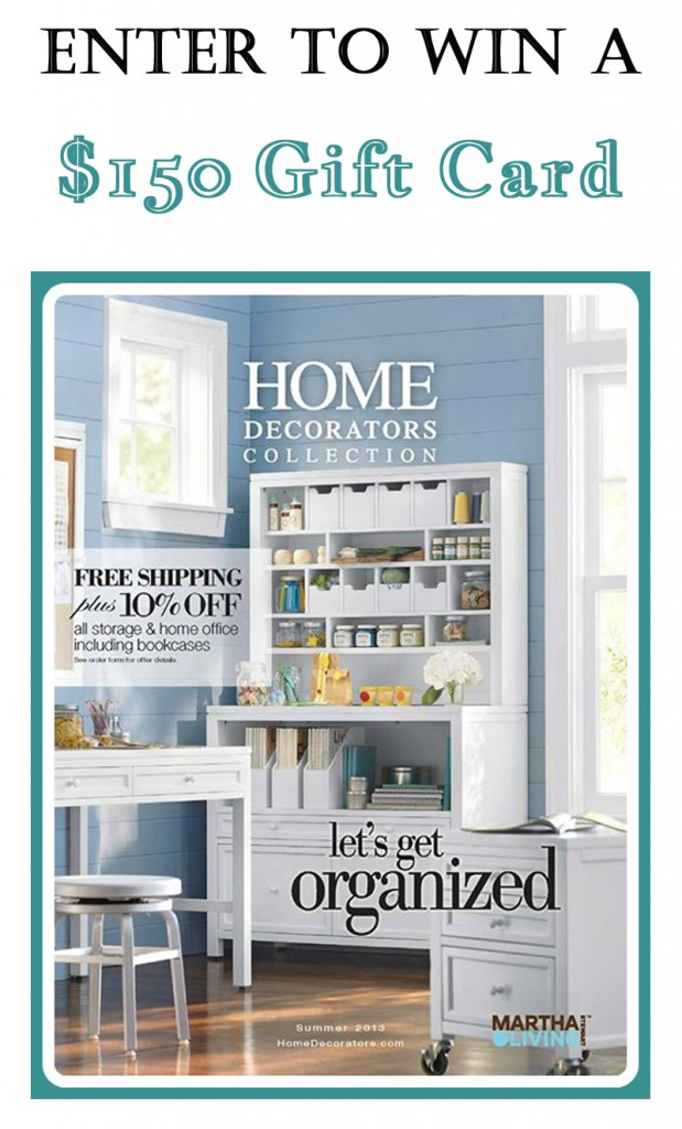 Home Decorators Collection Giveaway 619x1024 Storage and Organization! {GIVEAWAY}