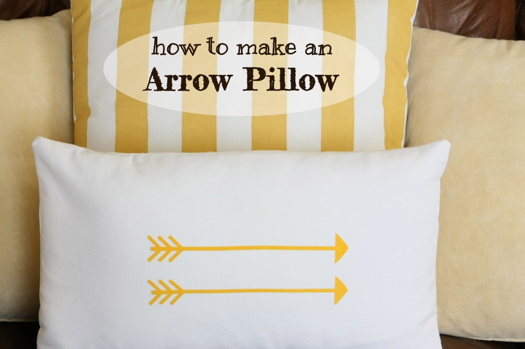 how to make arrow pillow 1024x682 Arrow Pillow