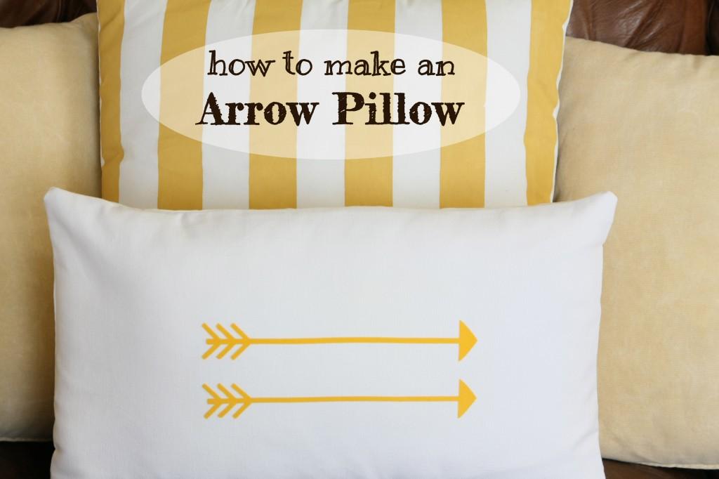 how-to-make-arrow-pillow