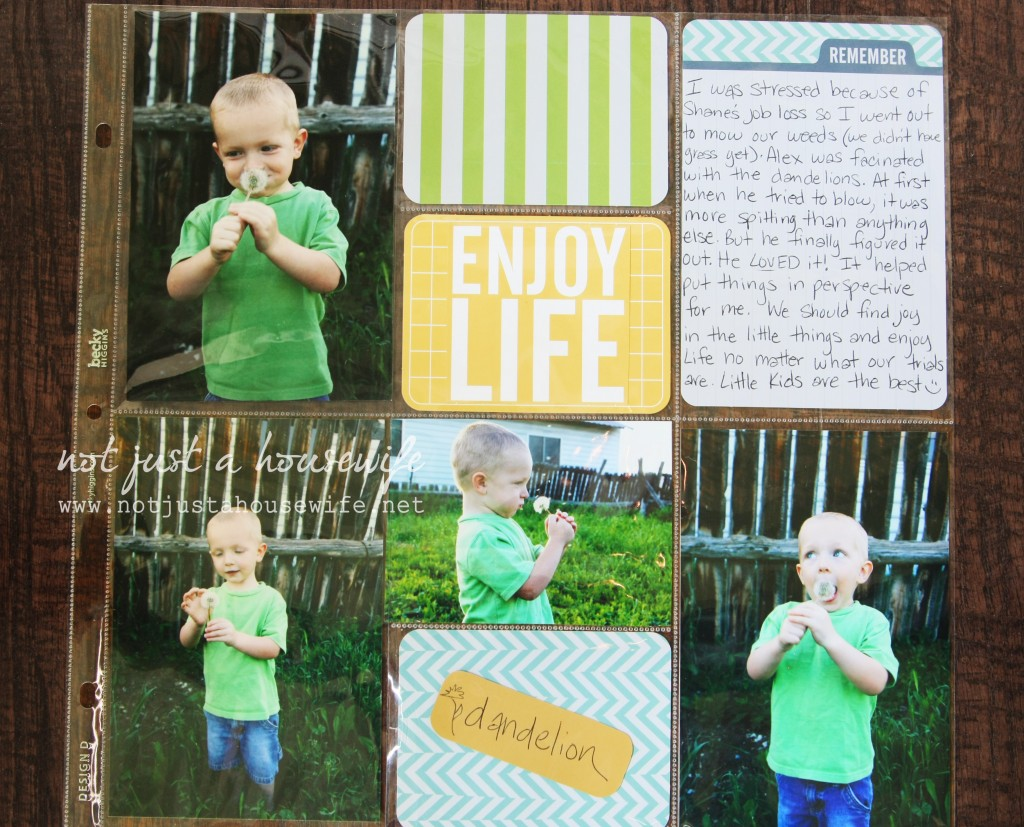 project life scrapbook page 1024x827 Project LIFE :)