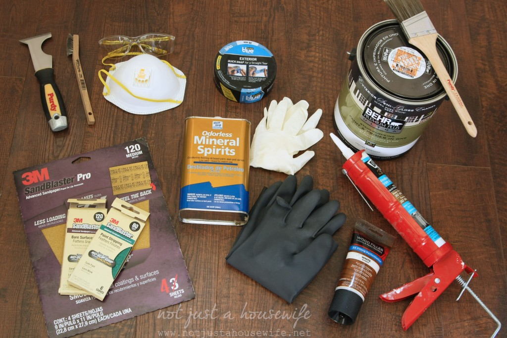 window painting supplies 1024x682 How To Paint An Old Window