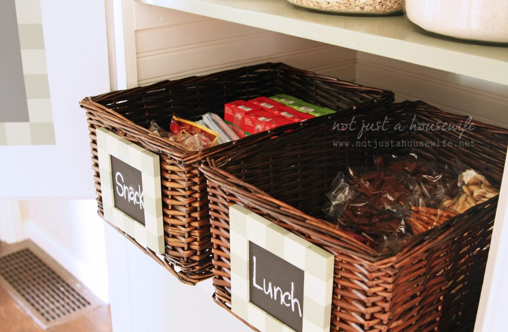 organized pantry ideas