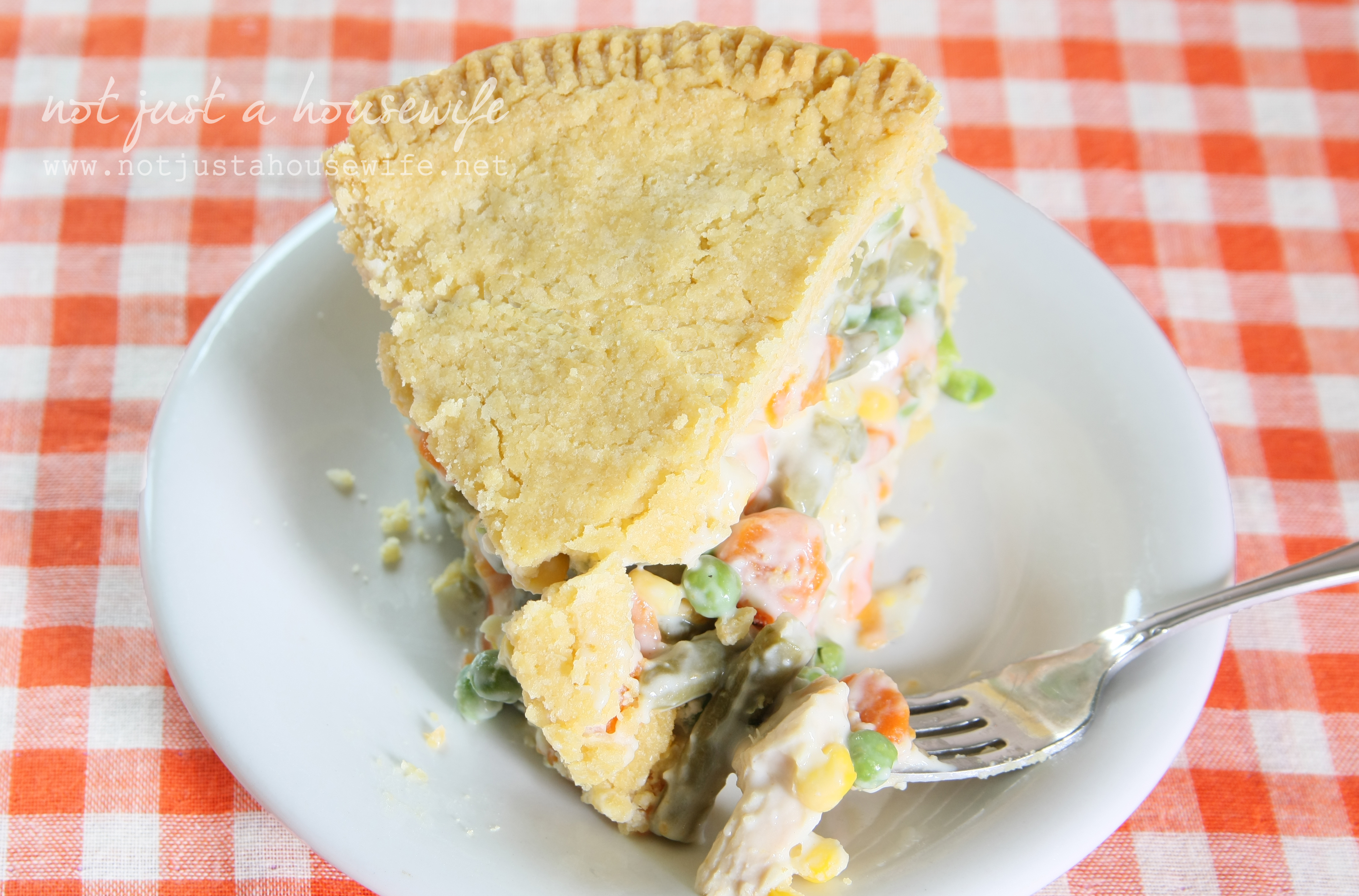 Deep Dish} Chicken Pot Pie | Not JUST A Housewife