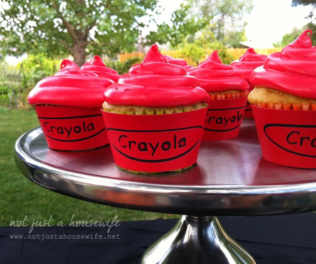 crayola-cupcakes