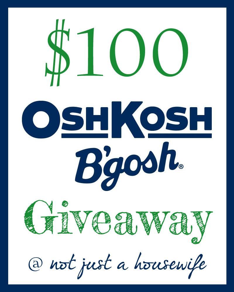 osh kosh bgosh giveaway1 OshKosh BGosh GIVEAWAY!!!