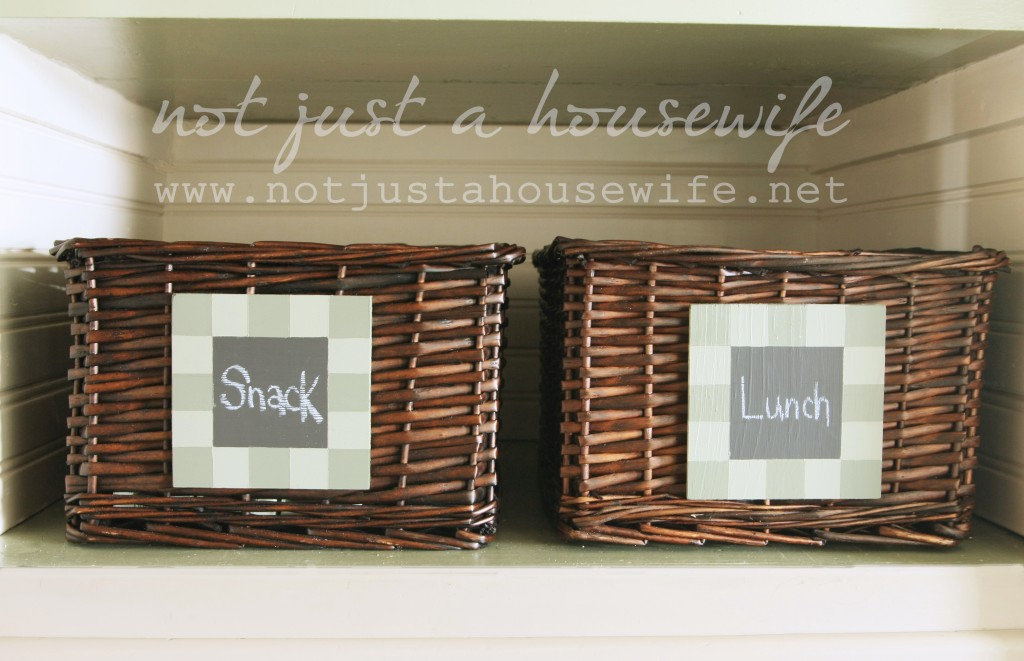 snack luch tags  1024x661 Pantry Makeover!!!
