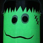 Glow-in-the-Dark Trick or Treat Bucket