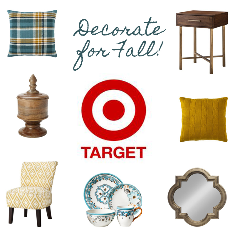 target fall Decorate For Fall: Target Gift Card Giveaway!