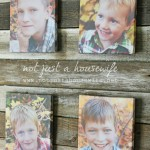 DIY Canvas Photo Prints