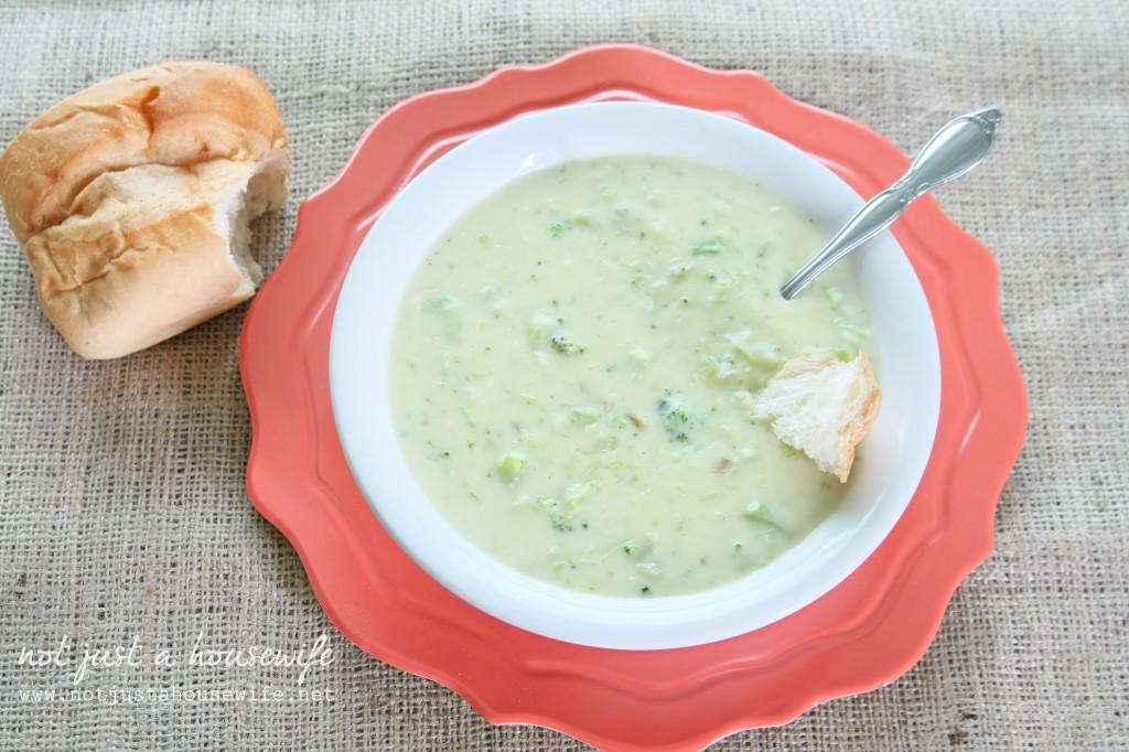 cream of brocoli soup