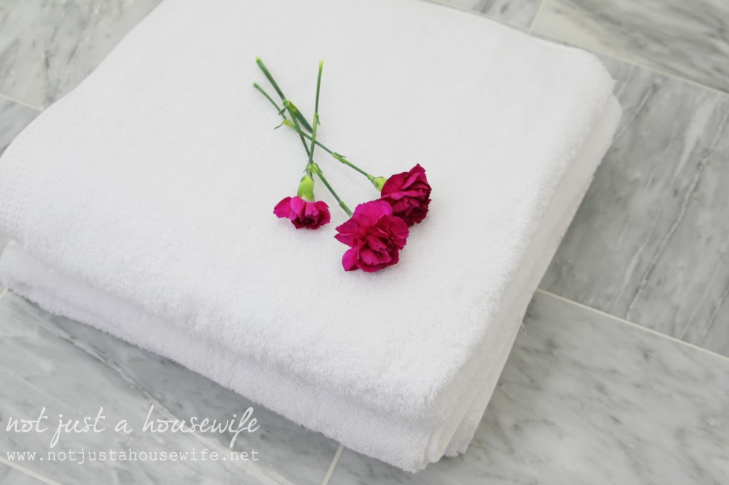 fluffly towels