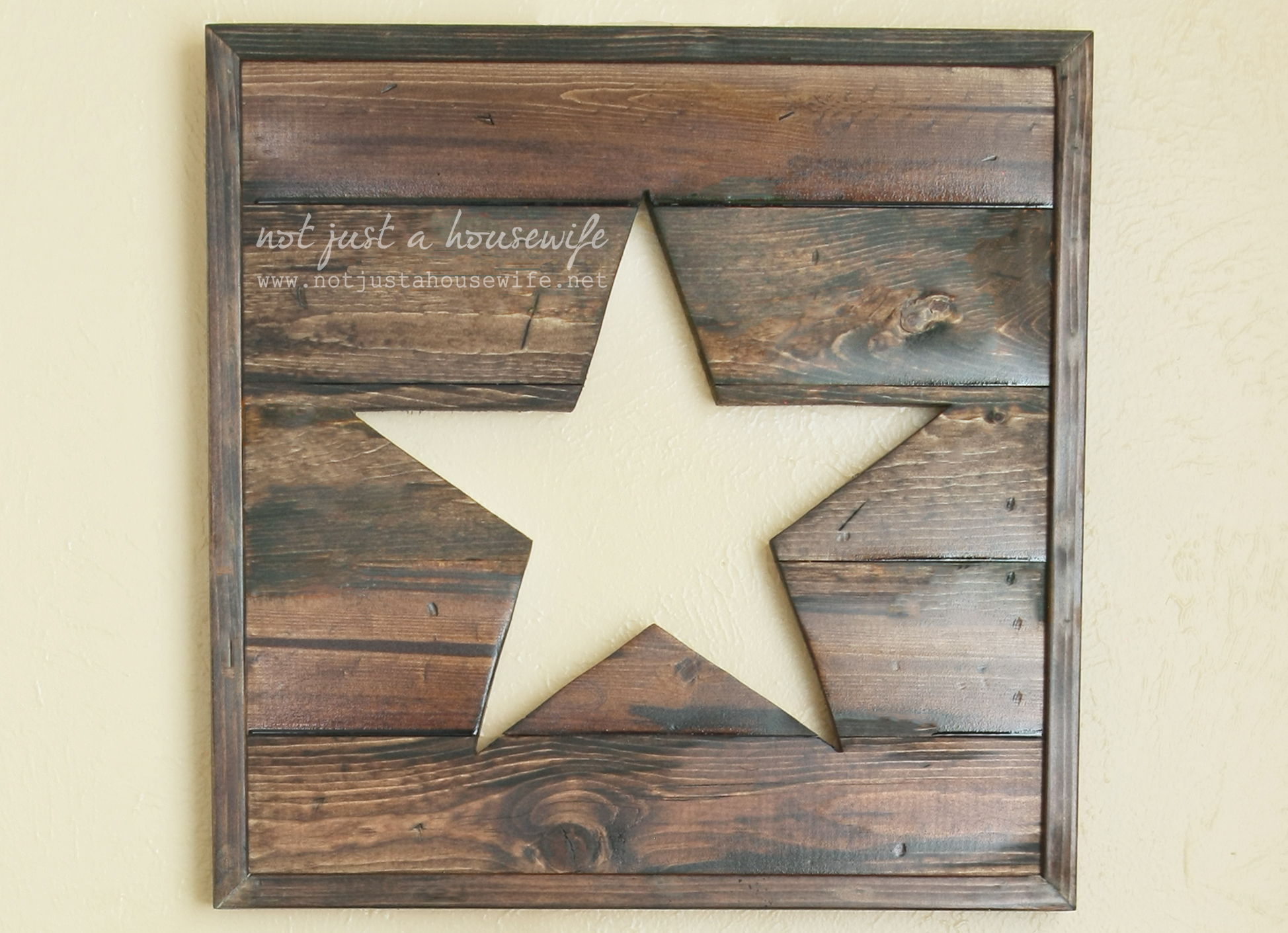 Star Wall Decor Ideas: Not JUST A Housewife