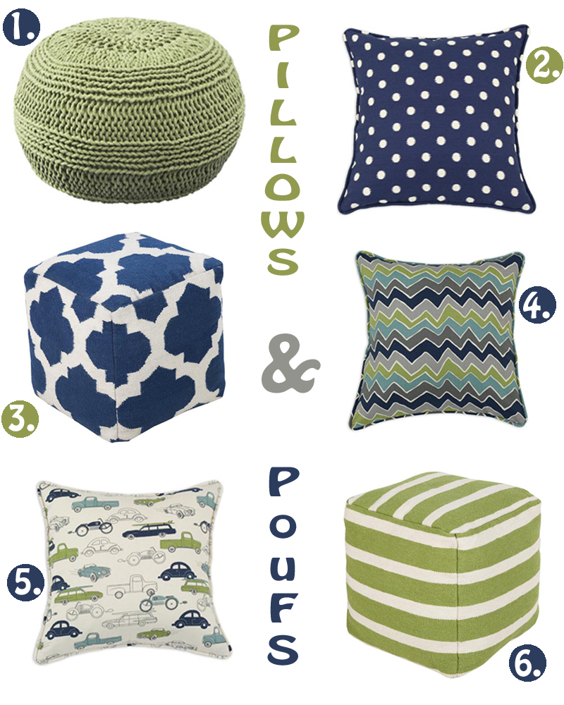 pillows Itsy Bitsy Collection + GIVEAWAY
