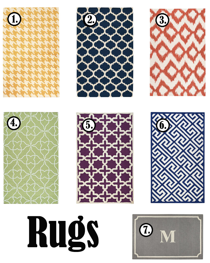 rugs Itsy Bitsy Collection + GIVEAWAY