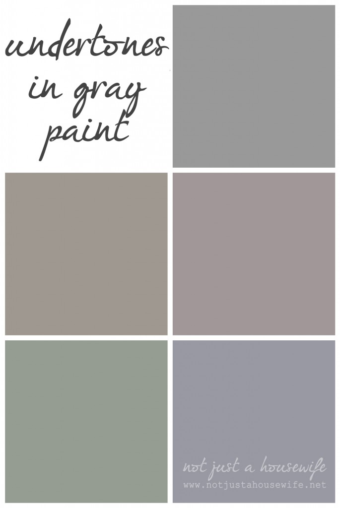 undertones in gray paint