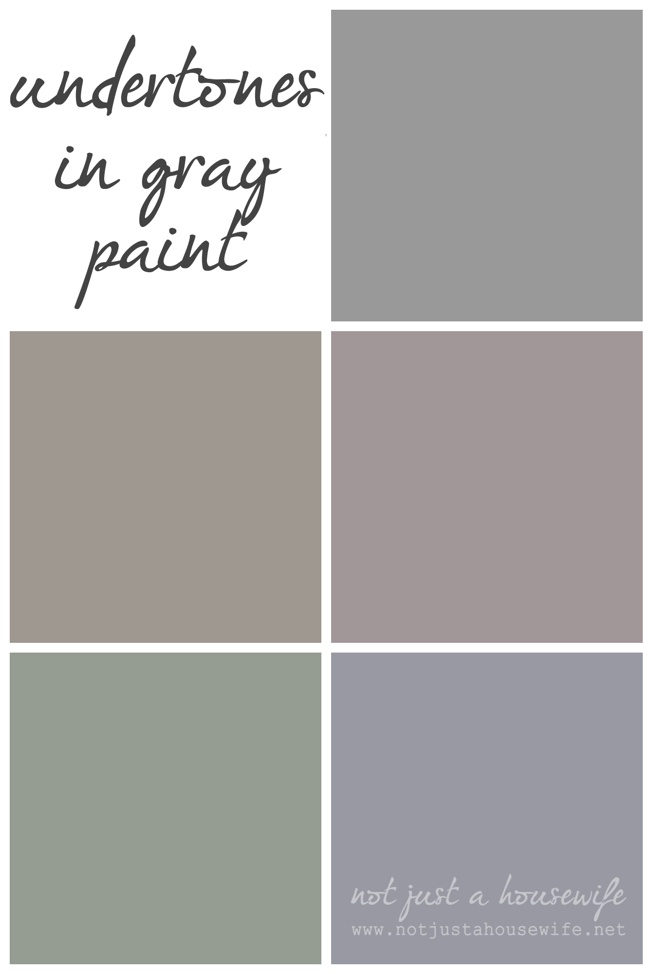 when choosing a gray color it is vital to understand the different